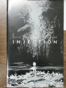Injection Artists Proof, Oversized Comic Book Warren Ellis Declan Shalvey