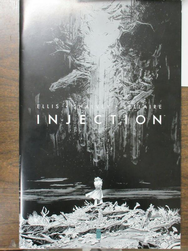 Injection Artists Proof, Oversized Comic Book Warren Ellis Declan Shalvey