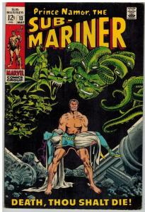 SUB MARINER 13 VG-F May 1969 COMICS BOOK