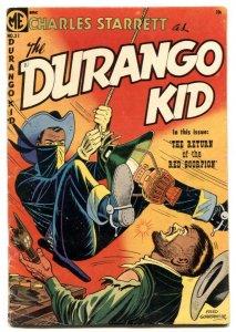 Durango Kid #15 1952-ME-Dan Brand White Indian-Frank Frazetta-P