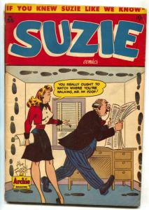 Suzie #55 1946- ARCHIE COMICS- good girl art- G