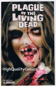 PLAGUE of the LIVING DEAD #5, VF, Zombies, Painted, 2007, more Horror in store