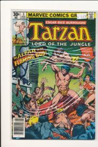 Marvel #3 TARZAN Lord of the Jungle Fine (SIC031)