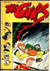Gumps #2 1947-Gus Edson art-dinosaur-newspaper comic strip-VF