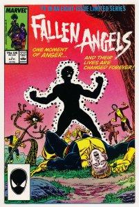 Fallen Angels (1987) #1-8 FN/VF Complete series