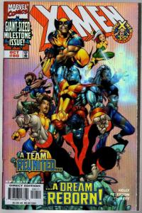 X MEN  (1991) 80 FN  (3.99 CVR)   Foil Cover  Oct. 1998
