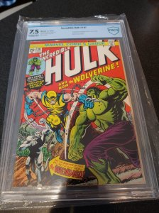 HULK #181 CBCS 7.5 1ST APPEARANCE OF WOLVERINE