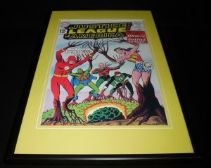 Justice League of America #9 Framed 12x18 Cover Photo Poster Display Official RP