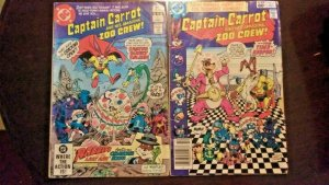 Captain Carrot And His Amazing Zoo Crew #5 and #8 DC Comic Lot