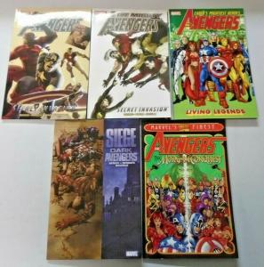 Avengers TPB Trade Paperback lot 5 different books condition N/A (years vary)