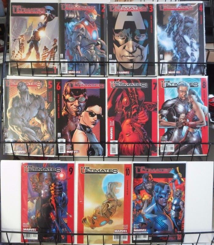 ULTIMATES - Lot of 32 Marvel Comics Books (1999-2007) Ultimate Six Spider-Man VF