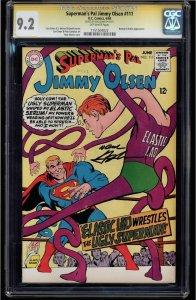 Jimmy Olsen #111 (DC, 1968) CGC 9.2 SS Neal Adams - Highest Graded!