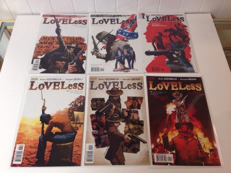 Loveless 1-6 Near Mint Lot set Run Azzarello Frusin
