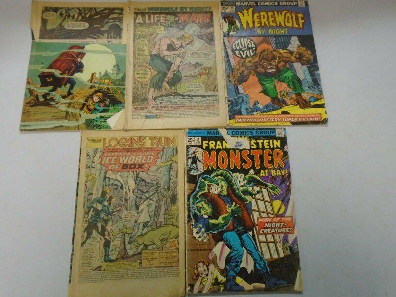 Bronze Age Horror Reader Comic Lot 17 Different Books