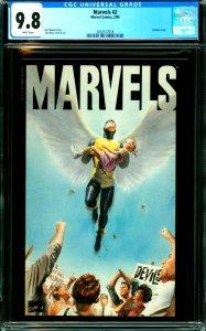 Marvels #2 CGC 9.8