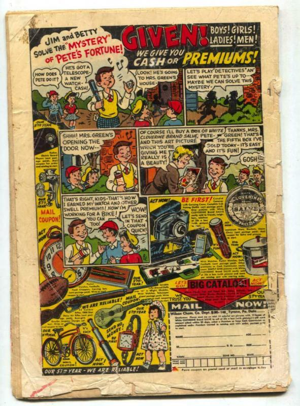 War Adventures #4 1952- Atlas Korean War comic- FAIR