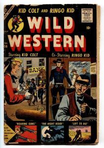 WILD WESTERN #56-KID COLT-RINGO KID-WESTERN-10 CENT-ATLAS-MANEELY-SINNOTT