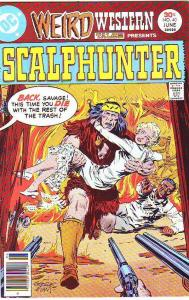 Weird Western Tales #40 (Apr-74) NM- High-Grade Scalphunter