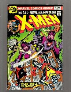 (Uncanny) X-Men # 98 VF Marvel Comic Book Beast Angel Cyclops Magneto SM19