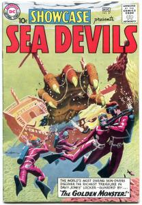 Showcase Comics #27 1960-1st SEA DEVILS-RUSS HEATH-Key issue-high grade  VF