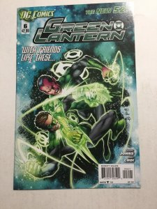 Green Lantern 6 Variant Nm Near Mint DC Comics New 52
