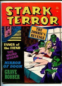STARK TERROR-#5-1971-VAMPIRE COVER-ZOMBIES-HORROR-BRUTAL-vg+