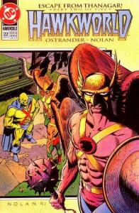 Hawkworld (1990 series) #22, NM- (Stock photo)