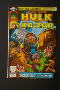 Marvel Team-Up #104 Hulk and Kazar April 1981