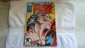 1992MARVEL COMICS ALPH FLIGHT # 106