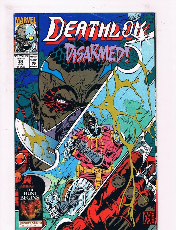Deathlok #24 VF 1st Print Marvel Comic Book SHIELD Cyborg TV