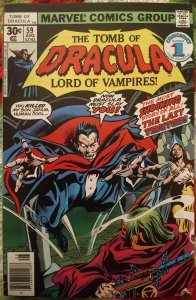 Tomb of Dracula #59 VF