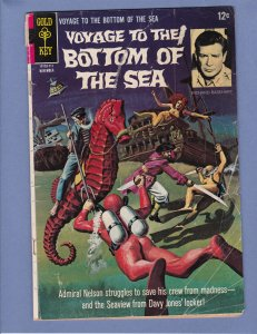 Voyage To The Bottom of the Sea #10 GD/VG Gold Key 1967