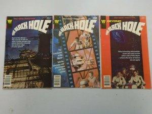 The Black Hole run #1-3 avg 5.0 VG FN (1980 Whitman)