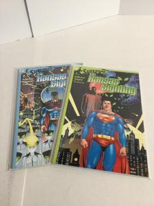 Superman The Kansas Sighting 1-2 Lot Set Run Nm Near Mint DC Comics A49