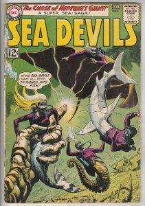 Sea Devils #8 (Dec-62) VG/FN Mid-Grade Sea Devils (Dane Dorrence, Biff Bailey...