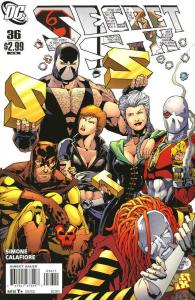 Secret Six (3rd Series) #36 FN; DC | save on shipping - details inside