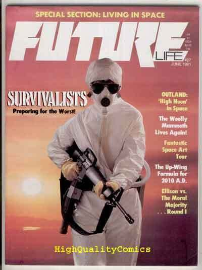 FUTURE #27, Sci-Fi Magazine , Survivalists, VF/NM , Harlan Ellison,1978, Space