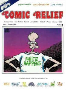Comic Relief (magazine) #5 VG; Page One | low grade comic - save on shipping - d
