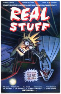 REAL STUFF #12, VF/NM, Williams, Crabb, Peter Kuper, Moriarity, Idaho, 1990