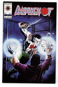 Bloodshot #9 1993 Valiant Comics-First mention of Dr.Silk. NM-