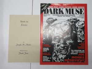 Dark Muse Prototype Issue with Soon to Know booklet Joseph M. Monks Frank Forte