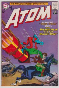The Atom #6 (VG+) Silver Age