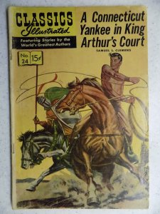 Classics Illustrated #24 (1945) HRN 167