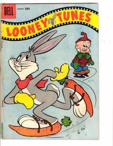 Looney Tunes # 171 FN 1956 Dell Comic Book Bugs Bunny Elmer Fudd Daffy Duck J275