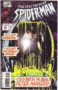 Spider-Man, Peter Parker Spectacular #222 (Mar-95) NM+ Super-High-Grade Spide...