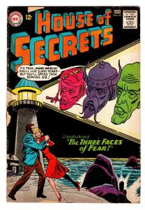 HOUSE OF SECRETS-#62-dc comic book-GREAT ISSUE-L@@k! g