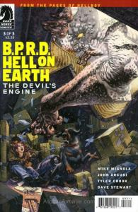 B.P.R.D. Hell On Earth: The Devil's Engine #3 VF/NM; Dark Horse | save on shippi