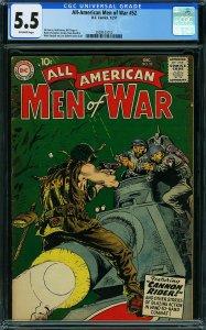 All-American Men of War #52 (DC, 1957) CGC 5.5