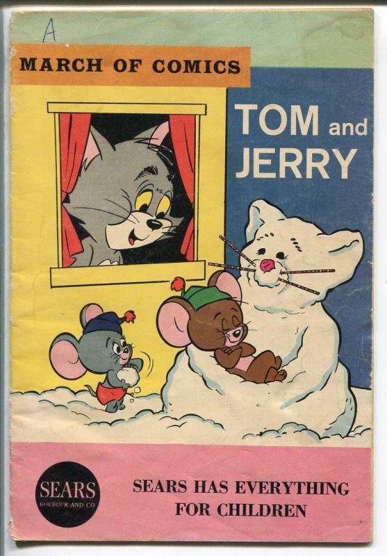 March Of Comics #273 1965-Tom and Jerry--5 X 7 1/4 -GOOD/VG