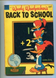 Dell Giant Woody Woodpecker's Back to School 2 VG+